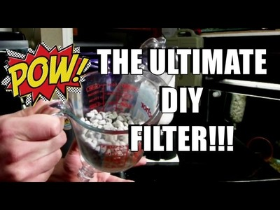 HOW TO: The ULTIMATE DIY Internal Aquarium Filter!!
