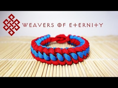 How to Tie a West Country Whipping Paracord Bracelet Tutorial