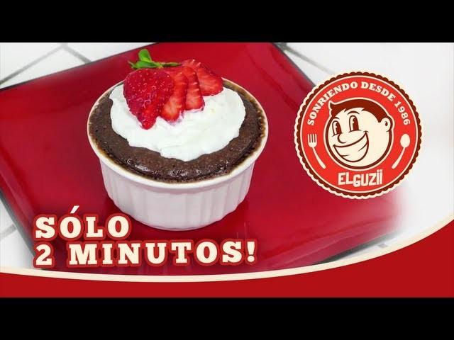 ¡Enamórate en 2 minutos! (Pastelito de Chocolate) - El Guzii