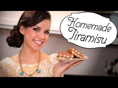 Ingrid Dishes   Homemade Tiramisu   Recipes from Missglamorazzi