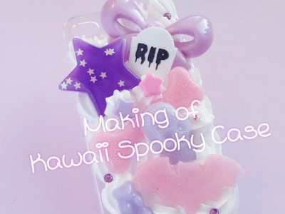 Making of: Kawaii Spooky iPhone Decoden Case
