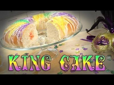 Mardi Gras King Cake | Just Add Sugar