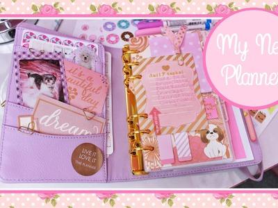 My New Planner! (Lilac & Gold Medium Kikki.K) #PlanWithManda