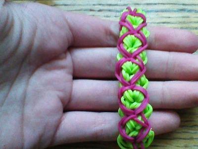 NEW Rainbow Loom D&D Bracelet