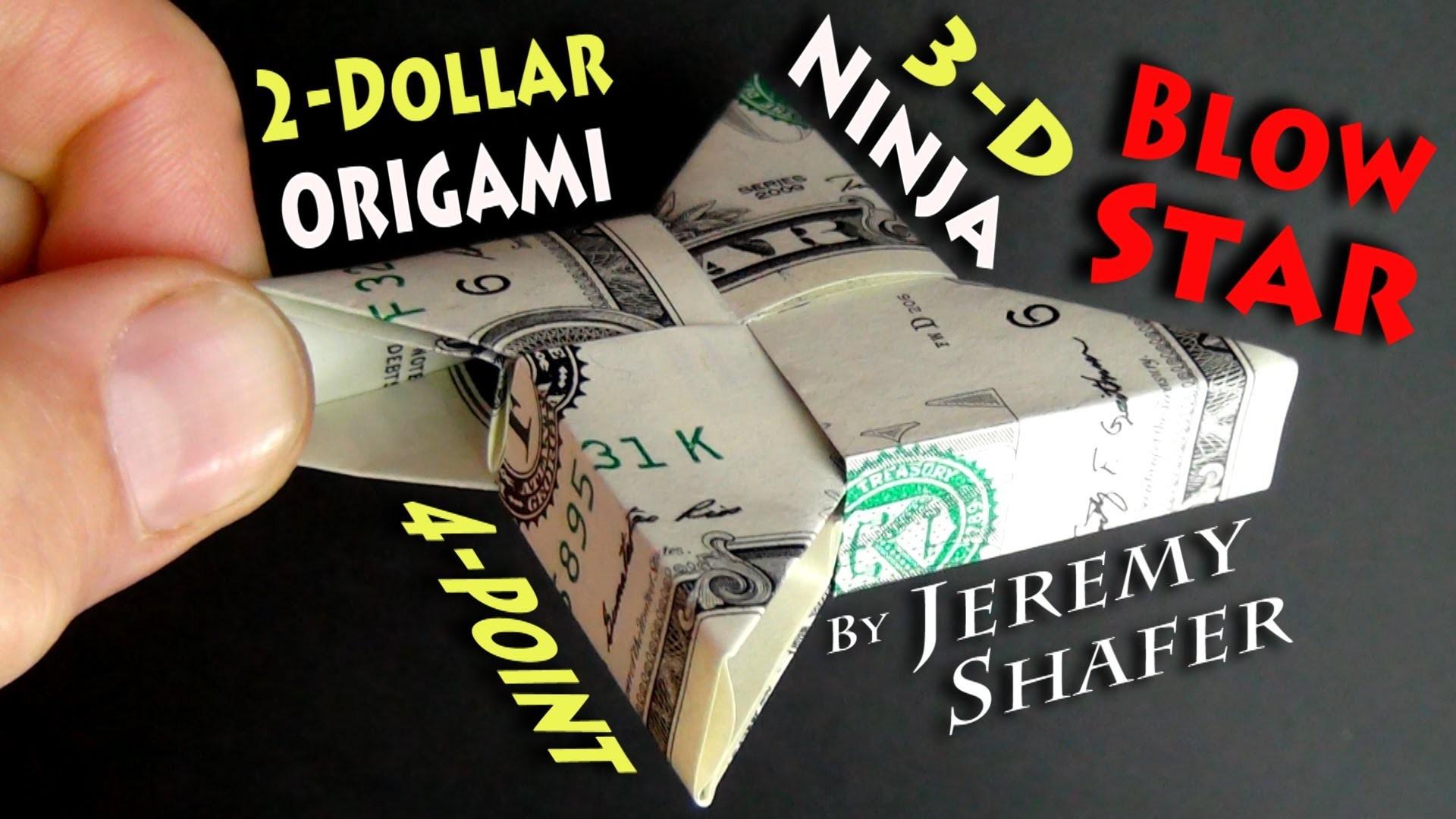 Origami 3-D Ninja Blow Star