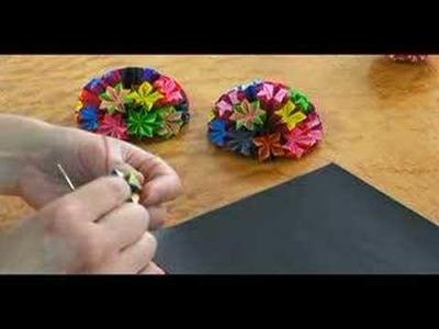 Origami Projects : Origami Kusudama: Part 5