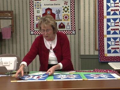 Quilt Blocks on American Barns - Americana Star