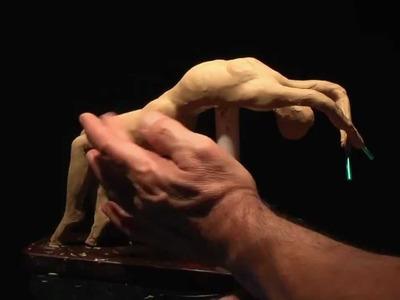 Sculpting a Female Figure - Pose A-2