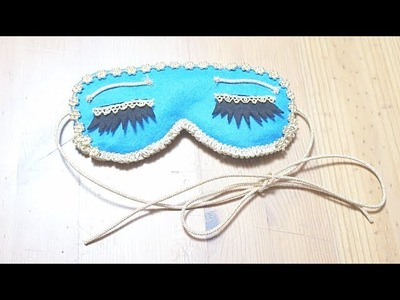 Sewing + DIY Breakfast at Tiffany's inspired Sleep Eye Mask