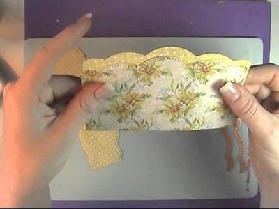 Spellbinders 3D M-bossibilities Daisies & Butterflies Card