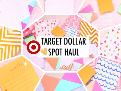 Target Dollar Spot Stationery Haul. Planner Supplies