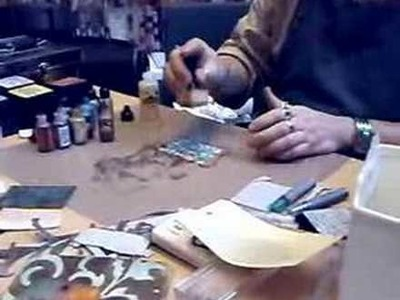 Tim Holtz demo alcohol ink 1