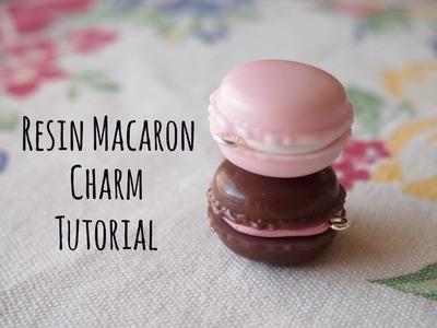 Tutorial: Resin Macaron Charm