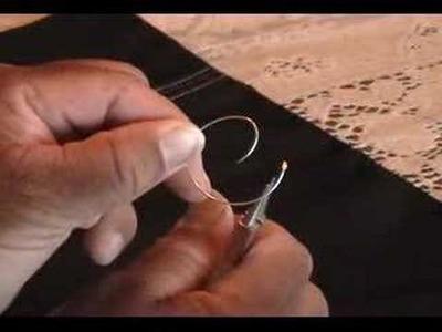 Wire  Heart Earring