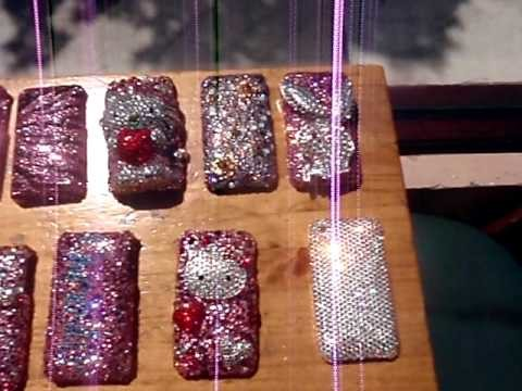 28 SWAROVSKI CRYSTALIZZED PHONE CASES!!