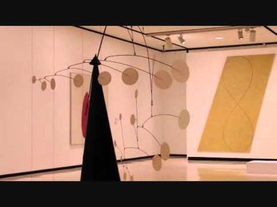 Alexander Calder's Mobile at Albringt Knox,  Buffalo, New York