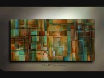ART Abstract, Contemporary painting,M.Lang