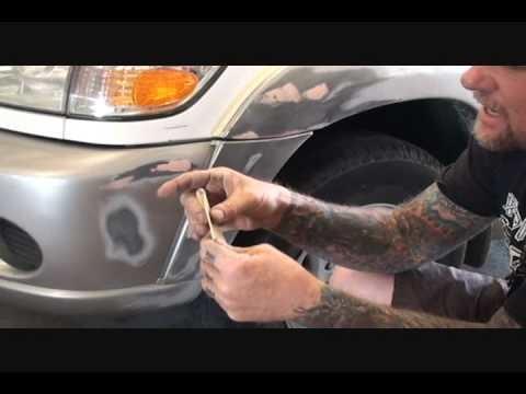 Automobile Collision Repair-How To Repair Your Plastic Bumper Cover. Part 1
