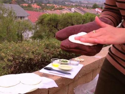 Big Feast: Making Naan in our Tandoor Oven