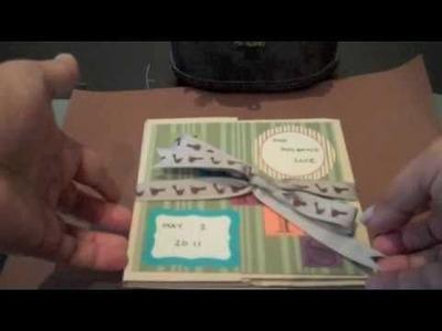 Birthday Card stock Mini Album Card