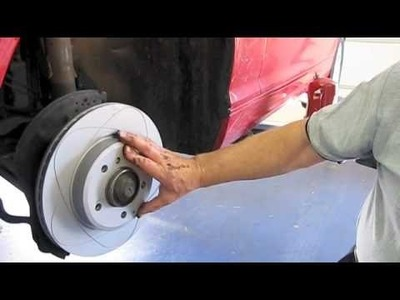BMW E46 3 series Front Brake Replacement