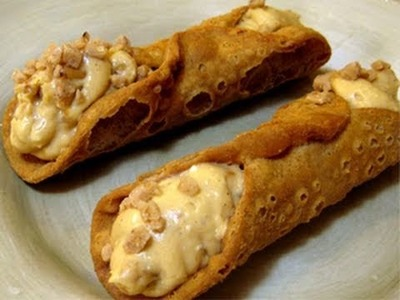 Butterscotch Cannoli Recipe by Laura Vitale