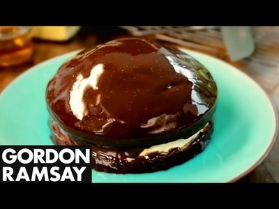 Chocolate Sponge with Fresh Ginger - Gordon Ramsay