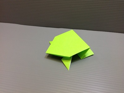 Daily Origami: 004 - Jumping Frog 02