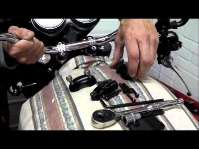 Delboy's Garage, How-To, Renthal Handlebars, Triumph Scrambler