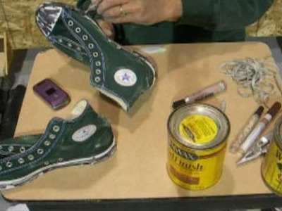Distressing Converse Chuck Taylor All Stars part 3