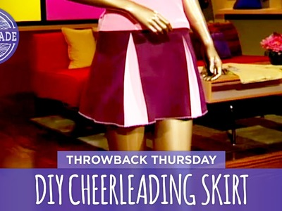 DIY Cheerleading Skirt - Throwback Thursday - HGTV Handmade