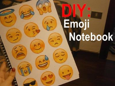 DIY: Emoji Notebook | HeyChiara