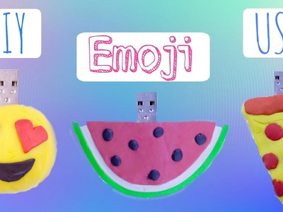 DIY Emoji USB: Back To School 2015!