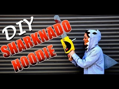 DIY Fashion | Sharknado Hoodie Costume