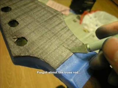 DIY GUITAR - Part 10: The Headstock