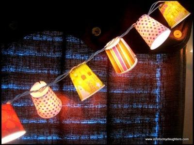 DIY Halloween String Lights