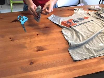 DIY Racerback T-Shirt!   Babybellykelli