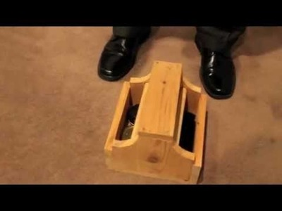 DIY Shoe Shine Box Demo | The Art of Manliness