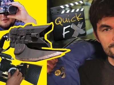 DIY Shoulder Rigs + Props + Syncing Audio - QUICK FX