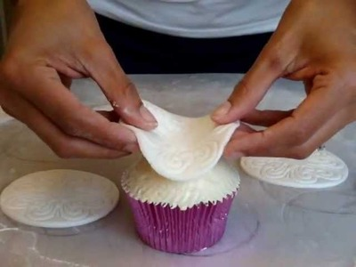 Dome frosted cupcakes tutorial