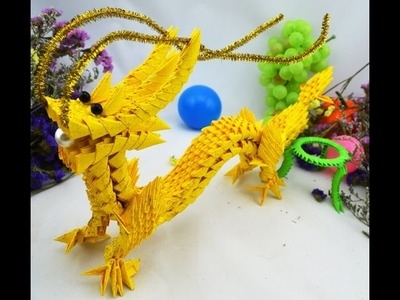 Dragon Instructions and Tutorials about how to make an origami dragon  par1