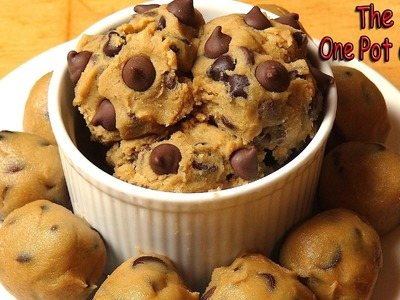 Edible Chocolate Chip Cookie Dough - RECIPE