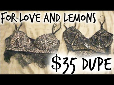 For Love and Lemons Skivvies Review AND $35 DUPE REVIEW!