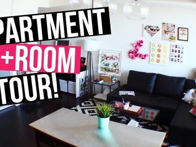 FULL APARTMENT + ROOM TOUR! | LaurDIY