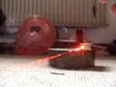 Homemade DVD Burner Laser