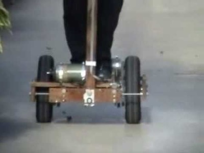 Homemade segway 2 of 3