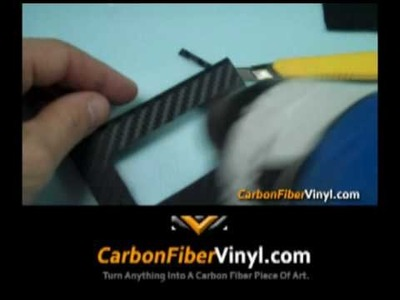 How To Apply 3M Di-NOC Carbon Fiber Vinyl Film