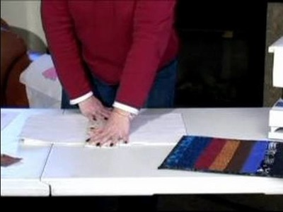 How to Make a Placemat : How to Flip & Sew a Placemat