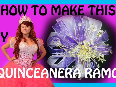 How to make a quinceanera bouquet aka ramo DIY