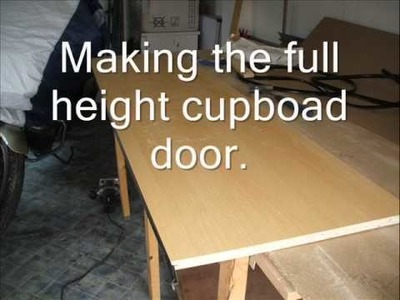 HOW TO MAKE A SELF BUILD CAMPERVAN PART 3